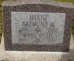 HIRNI, RAYMOND H. - Coconino County, Arizona | RAYMOND H. HIRNI - Arizona Gravestone Photos