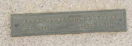 HOCHDERFFER, FRANK JAMES - Coconino County, Arizona | FRANK JAMES HOCHDERFFER - Arizona Gravestone Photos