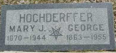 HOCHDERFFER, GEORGE - Coconino County, Arizona   GEORGE HOCHDERFFER - Arizona Gravestone Photos