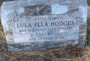 HODGES, LULA ELLA - Coconino County, Arizona | LULA ELLA HODGES - Arizona Gravestone Photos