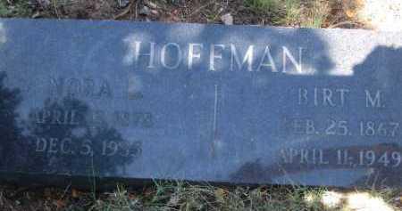 HOFFMAN, NORA L. - Coconino County, Arizona | NORA L. HOFFMAN - Arizona Gravestone Photos