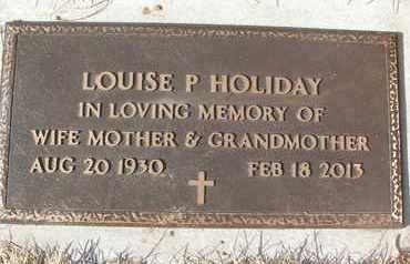 HOLIDAY, LOUISE P. - Coconino County, Arizona | LOUISE P. HOLIDAY - Arizona Gravestone Photos