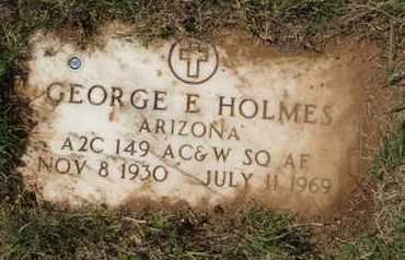 HOLMES, GEORGE E. - Coconino County, Arizona | GEORGE E. HOLMES - Arizona Gravestone Photos