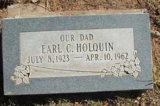 HOLQUIN, EARL C. - Coconino County, Arizona | EARL C. HOLQUIN - Arizona Gravestone Photos