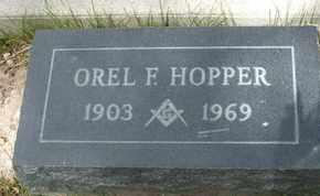 HOPPER, OREL F. - Coconino County, Arizona | OREL F. HOPPER - Arizona Gravestone Photos