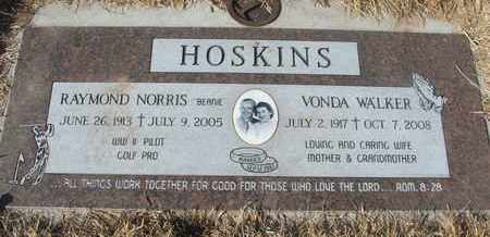 WALKER HOSKINS, VONDA - Coconino County, Arizona | VONDA WALKER HOSKINS - Arizona Gravestone Photos