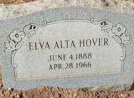HOVER, ELVA ALTA - Coconino County, Arizona | ELVA ALTA HOVER - Arizona Gravestone Photos