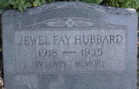 HUBBARD, JEWEL FAY - Coconino County, Arizona | JEWEL FAY HUBBARD - Arizona Gravestone Photos