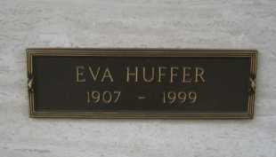 HUFFER, EVA - Coconino County, Arizona | EVA HUFFER - Arizona Gravestone Photos