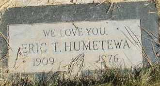 HUMETEWA, ERIC T. - Coconino County, Arizona   ERIC T. HUMETEWA - Arizona Gravestone Photos