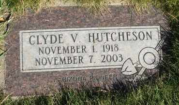 HUTCHESON, CLYDE V. - Coconino County, Arizona | CLYDE V. HUTCHESON - Arizona Gravestone Photos