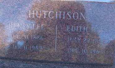 HUTCHISON, HENRY LEE - Coconino County, Arizona | HENRY LEE HUTCHISON - Arizona Gravestone Photos