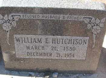 HUTCHISON, WILLIAM E. - Coconino County, Arizona | WILLIAM E. HUTCHISON - Arizona Gravestone Photos