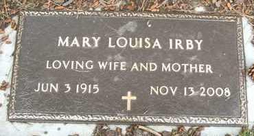 IRBY, MARY LOUISA - Coconino County, Arizona   MARY LOUISA IRBY - Arizona Gravestone Photos