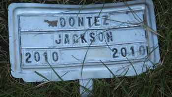 JACKSON, DONTEZ - Coconino County, Arizona | DONTEZ JACKSON - Arizona Gravestone Photos
