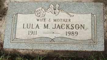 JACKSON, LULA M. - Coconino County, Arizona | LULA M. JACKSON - Arizona Gravestone Photos