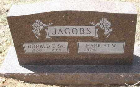 JACOBS, SR., DONALD E. - Coconino County, Arizona | DONALD E. JACOBS, SR. - Arizona Gravestone Photos