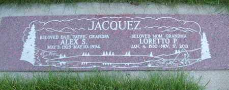 JACQUEZ, ALEX S. - Coconino County, Arizona | ALEX S. JACQUEZ - Arizona Gravestone Photos