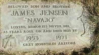 "JENSEN, JAMES ""NAVAJO"" - Coconino County, Arizona | JAMES ""NAVAJO"" JENSEN - Arizona Gravestone Photos"