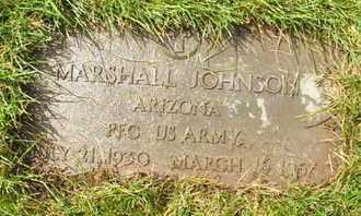 JOHNSON, MARSHALL - Coconino County, Arizona   MARSHALL JOHNSON - Arizona Gravestone Photos