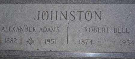 JOHNSTON, ROBERT BELL - Coconino County, Arizona | ROBERT BELL JOHNSTON - Arizona Gravestone Photos