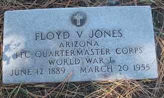 JONES, FLOYD V. - Coconino County, Arizona   FLOYD V. JONES - Arizona Gravestone Photos