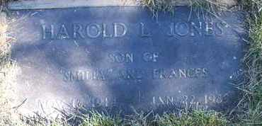JONES, HAROLD L. - Coconino County, Arizona | HAROLD L. JONES - Arizona Gravestone Photos