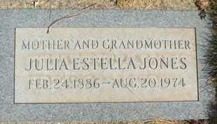 JONES, JULIA ESTELLA - Coconino County, Arizona | JULIA ESTELLA JONES - Arizona Gravestone Photos