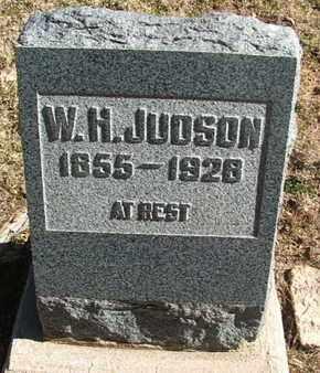 JUDSON, W.H. - Coconino County, Arizona   W.H. JUDSON - Arizona Gravestone Photos