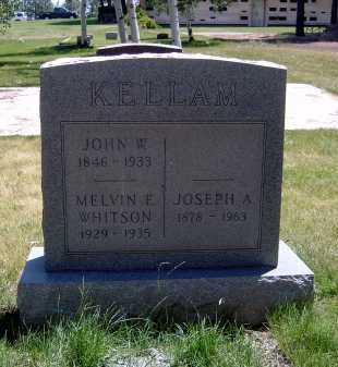 KELLAM, JOSEPH A. - Coconino County, Arizona | JOSEPH A. KELLAM - Arizona Gravestone Photos