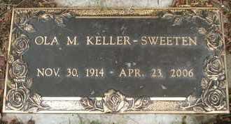 KELLER-SWEETEN, OLA M. - Coconino County, Arizona | OLA M. KELLER-SWEETEN - Arizona Gravestone Photos