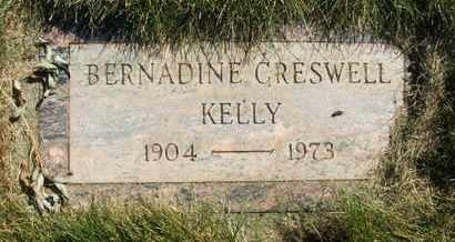 CRESWELL KELLY, BERNADINE - Coconino County, Arizona | BERNADINE CRESWELL KELLY - Arizona Gravestone Photos