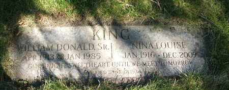 KING, WILLIAM DONALD SR. - Coconino County, Arizona | WILLIAM DONALD SR. KING - Arizona Gravestone Photos