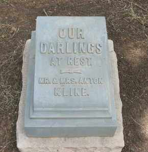 KLINE, CHILDREN - Coconino County, Arizona | CHILDREN KLINE - Arizona Gravestone Photos