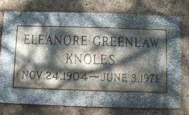 KNOLES, ELEANORE - Coconino County, Arizona | ELEANORE KNOLES - Arizona Gravestone Photos