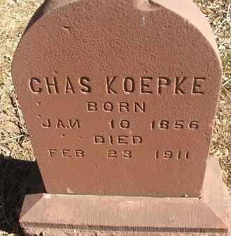 KOEPKE, CHAS - Coconino County, Arizona   CHAS KOEPKE - Arizona Gravestone Photos