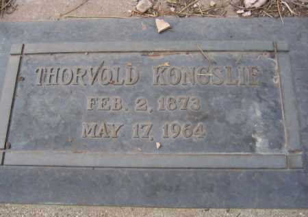 KONGSLIE, THORVOLD - Coconino County, Arizona | THORVOLD KONGSLIE - Arizona Gravestone Photos