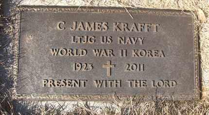 KRAFFT, C. JAMES - Coconino County, Arizona | C. JAMES KRAFFT - Arizona Gravestone Photos