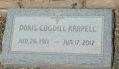 KRAPELL, DORIS - Coconino County, Arizona | DORIS KRAPELL - Arizona Gravestone Photos