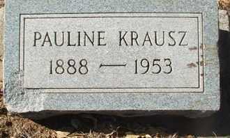 KRAUSZ, PAULINE - Coconino County, Arizona | PAULINE KRAUSZ - Arizona Gravestone Photos