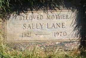 LANE, SALLY - Coconino County, Arizona | SALLY LANE - Arizona Gravestone Photos
