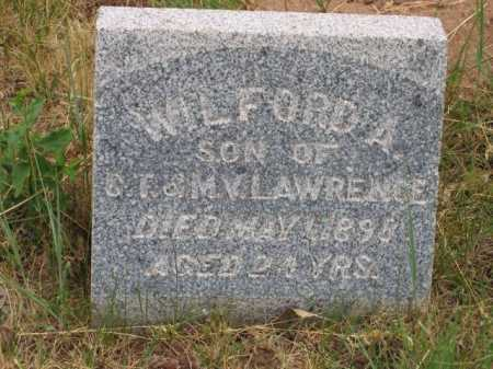 LAWRENCE, WILFORD A. - Coconino County, Arizona   WILFORD A. LAWRENCE - Arizona Gravestone Photos