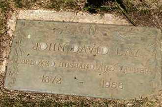LAY, JOHN DAVID - Coconino County, Arizona | JOHN DAVID LAY - Arizona Gravestone Photos