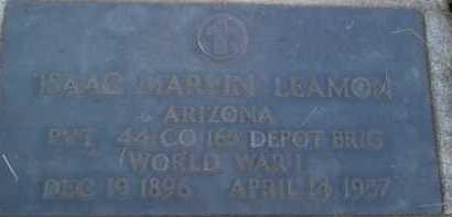 LEAMON, ISAAC MARVIN - Coconino County, Arizona | ISAAC MARVIN LEAMON - Arizona Gravestone Photos