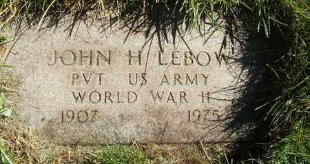 LEBOW, JOHN H - Coconino County, Arizona | JOHN H LEBOW - Arizona Gravestone Photos