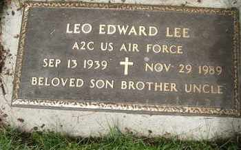 LEE, LEO EDWARD - Coconino County, Arizona | LEO EDWARD LEE - Arizona Gravestone Photos