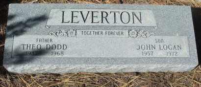 LEVERTON, JOHN LOGAN - Coconino County, Arizona | JOHN LOGAN LEVERTON - Arizona Gravestone Photos