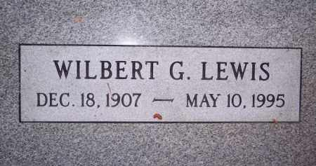 LEWIS, WILBERT G - Coconino County, Arizona | WILBERT G LEWIS - Arizona Gravestone Photos