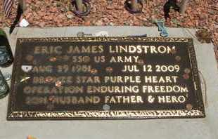 LINDSTROM, ERIC JAMES - Coconino County, Arizona | ERIC JAMES LINDSTROM - Arizona Gravestone Photos