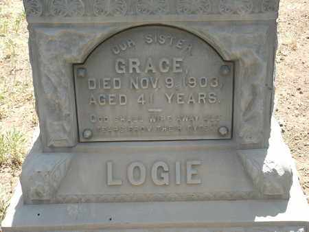 LOGIE, GRACE - Coconino County, Arizona | GRACE LOGIE - Arizona Gravestone Photos